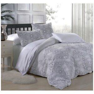 סט מצעים למיטת יחיד/מיטה יהודית פרדייז 100% כותנה
